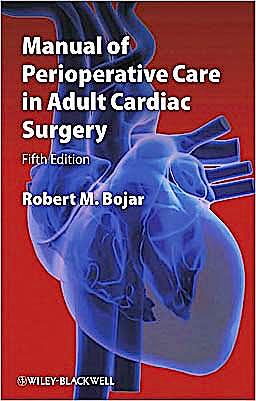 Portada del libro 9781444331431 Manual of Perioperative Care in Adult Cardiac Surgery
