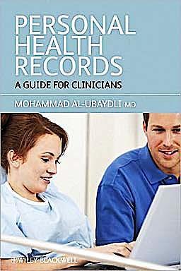 Portada del libro 9781444332520 Personal Health Records. a Guide for Clinicians