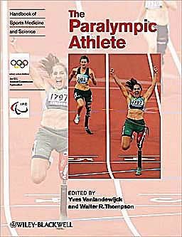 Portada del libro 9781444334043 The Paralympic Athlete