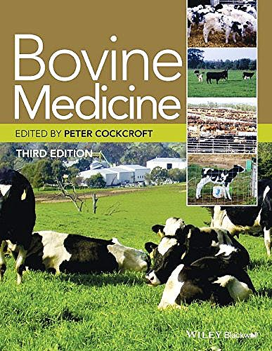 Portada del libro 9781444336436 Bovine Medicine
