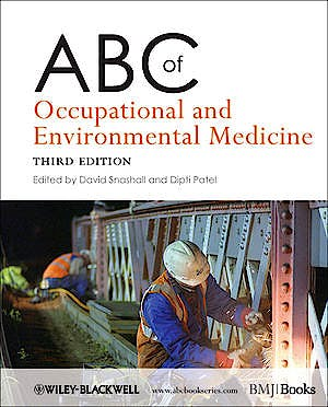 Portada del libro 9781444338171 Abc of Occupational and Environmental Medicine