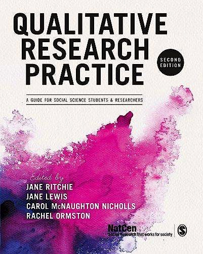 Portada del libro 9781446209127 Qualitative Research Practice. a Guide for Social Science Students and Researchers