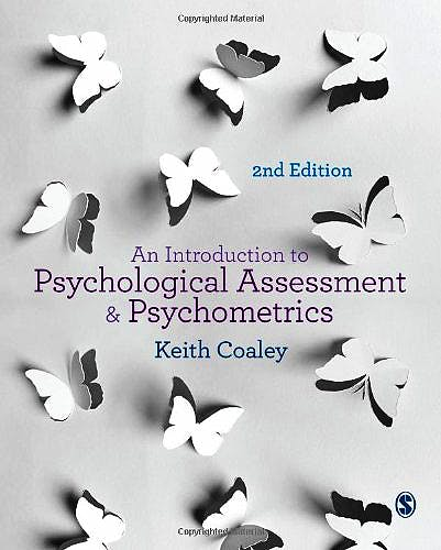 Portada del libro 9781446267141 An Introduction to Psychological Assessment and Psychometrics