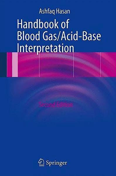 Portada del libro 9781447143147 Handbook of Blood Gas/acid-Base Interpretation
