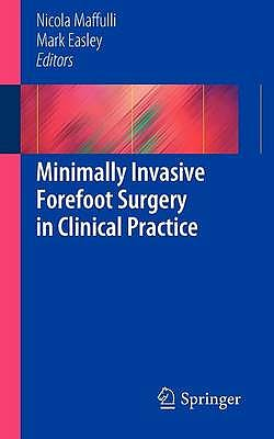 Portada del libro 9781447144885 Minimally Invasive Forefoot Surgery in Clinical Practice
