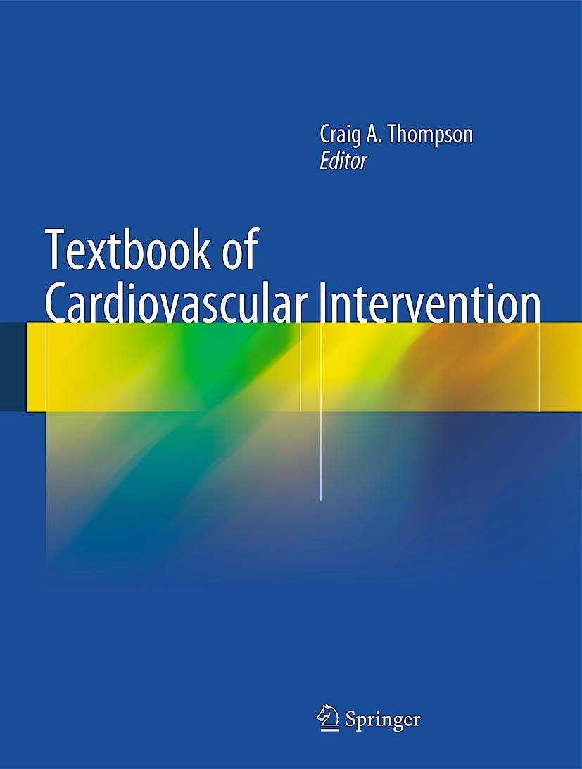 Portada del libro 9781447145271 Textbook of Cardiovascular Intervention