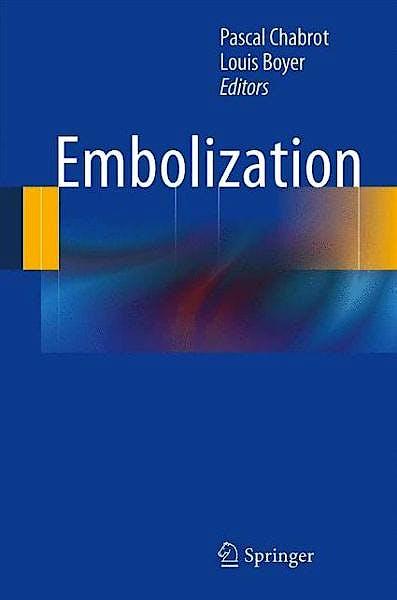 Portada del libro 9781447151814 Embolization