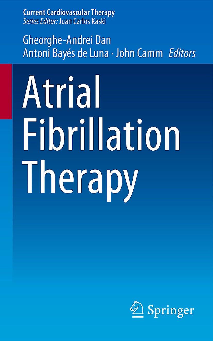 Portada del libro 9781447154747 Atrial Fibrillation Therapy (Current Cardiovascular Therapy)
