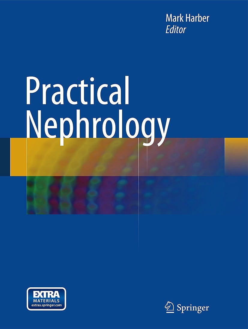Portada del libro 9781447155461 Practical Nephrology (With Online Files/update)