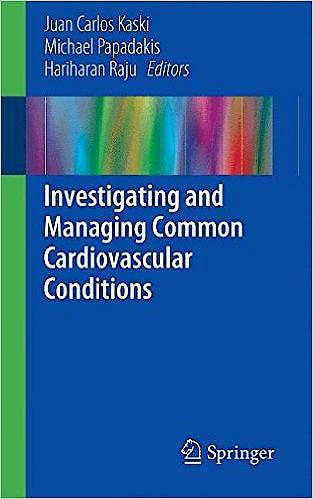 Portada del libro 9781447166955 Investigating and Managing Common Cardiovascular Conditions