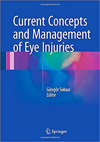 Portada del libro 9781447173007 Current Concepts and Management of Eye Injuries
