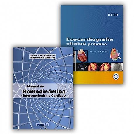 Portada del libro 9781447278788 PACK Manual de Hemodinámica. Intervencionismo Cardíaco + Ecocardiografía Clínica Práctica