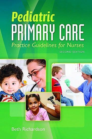 Portada del libro 9781449600433 Pediatric Primary Care. Practice Guidelines for Nurses