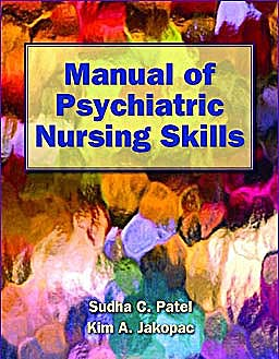Portada del libro 9781449613563 Manual of Psychiatric Nursing Skills