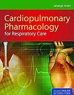 Portada del libro 9781449615604 Cardiopulmonary Pharmacology for Respiratory Care + Online Access
