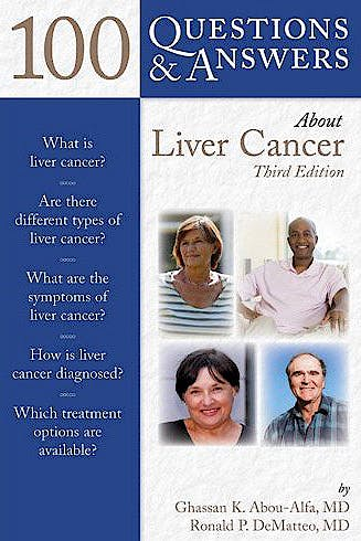 Portada del libro 9781449622893 100 Questions & Answers about Liver Cancer