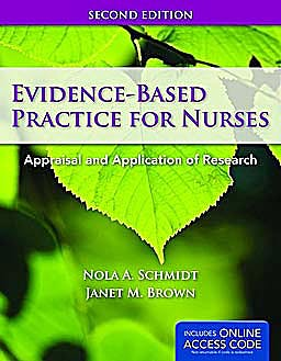 Portada del libro 9781449624071 Evidence-Based Practice for Nurses. Appraisal and Application of Research + Online Access Code