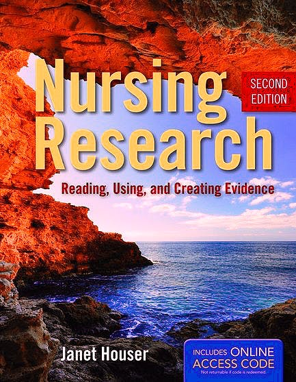 Portada del libro 9781449631734 Nursing Research. Reading, Using, and Creating Evidence