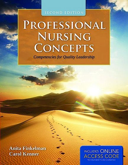 Portada del libro 9781449649029 Professional Nursing Concepts. Competencies for Quality Leadership