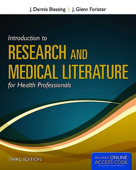 Portada del libro 9781449650353 Introduction to Research and Medical Literature for Health Professionals + Online Access