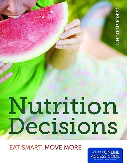Portada del libro 9781449652951 Nutrition Decisions: Eat Smart, Move More