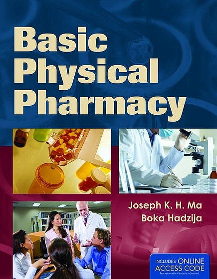 Portada del libro 9781449653347 Basic Physical Pharmacy + Online Access