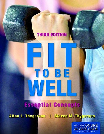 Portada del libro 9781449661403 Fit to Be Well. Essential Concepts