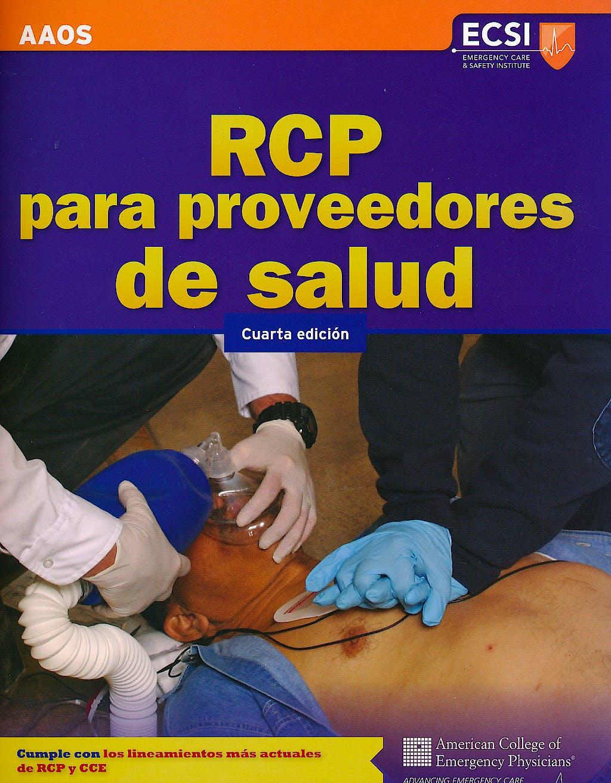 Portada del libro 9781449664527 RCP para Proveedores de Salud