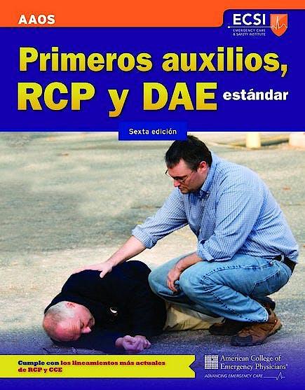 Portada del libro 9781449664541 Primeros Auxilios, Rcp y Dae Estandar
