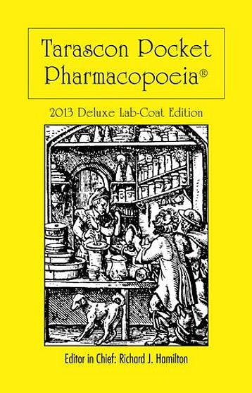 Portada del libro 9781449673611 Tarascon Pocket Pharmacopoeia 2013 Deluxe Lab-Coat Edition