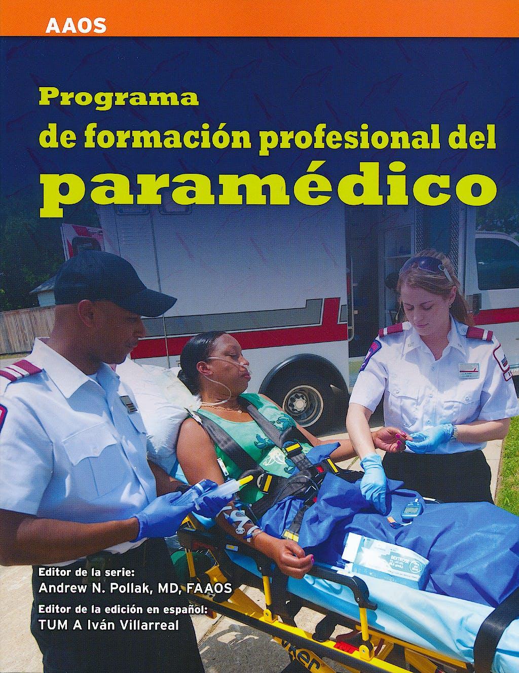 Portada del libro 9781449679705 Programa de Formacion Profesional del Paramedico