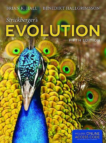 Portada del libro 9781449691929 Strickberger's Evolution + Online Access