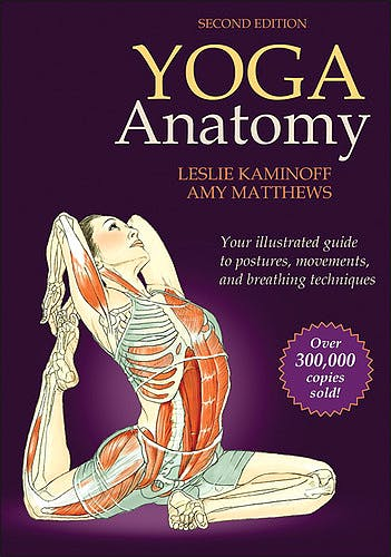 Portada del libro 9781450400244 Yoga Anatomy. Your Illustrated Guide to Postures, Movements and Breathing Techniques