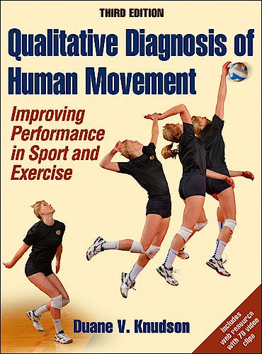 Portada del libro 9781450421034 Qualitative Diagnosis of Human Movement. Improving Performance in Sport and Exercise + Web Resource