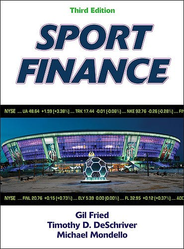 Portada del libro 9781450421041 Sport Finance