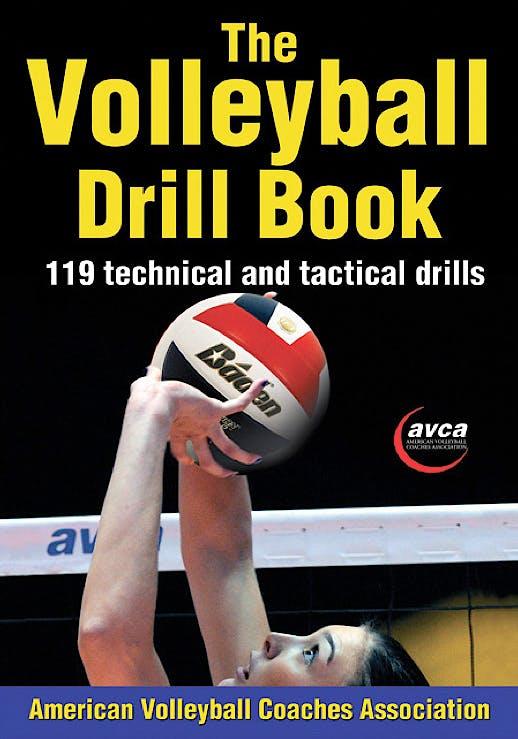 Portada del libro 9781450423861 The Volleyball Drill Book