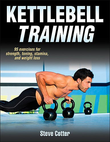 Portada del libro 9781450430111 Kettlebell Training