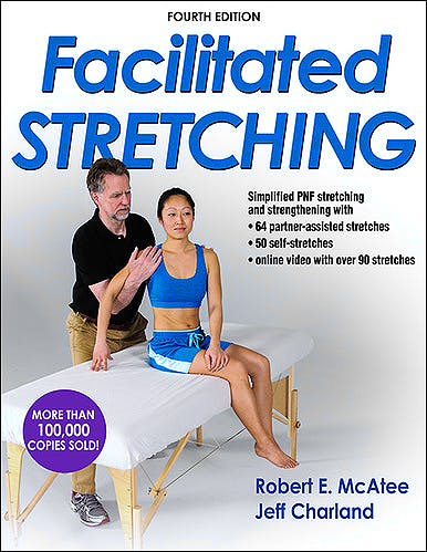 Portada del libro 9781450434317 Facilitated Stretching with Online Video
