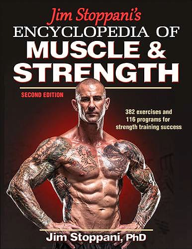 Portada del libro 9781450459747 Jim Stoppani's Encyclopedia of Muscle and Strength