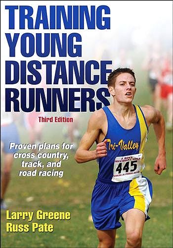 Portada del libro 9781450468848 Training Young Distance Runners