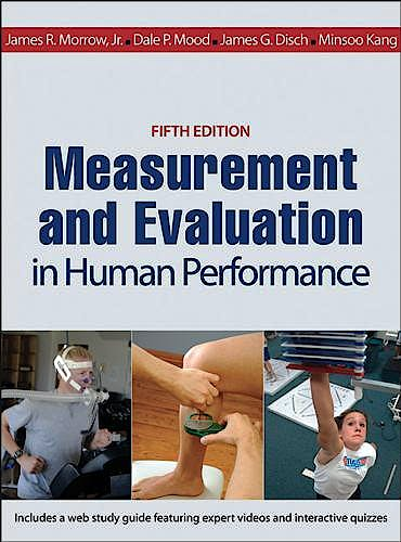 Portada del libro 9781450470438 Measurement and Evaluation in Human Performance with Web Study Guide