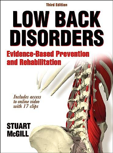 Portada del libro 9781450472913 Low Back Disorders. Evidence-Based Prevention and Rehabilitation