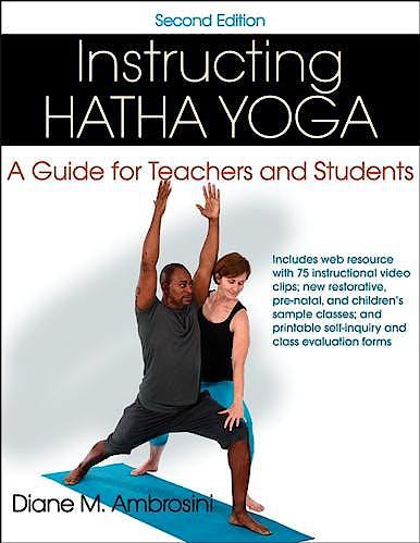 Portada del libro 9781450484657 Instructing Hatha Yoga