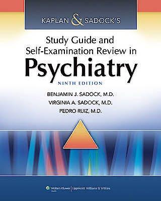 Portada del libro 9781451100006 Kaplan and Sadock's Study Guide and Self-Examination Review in Psychiatry