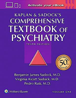 Portada del libro 9781451100471 Kaplan and Sadock's Comprehensive Textbook of Psychiatry, 2 Vols.