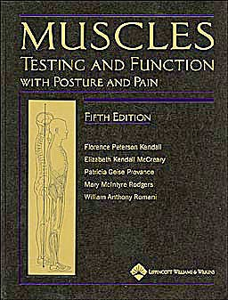 Portada del libro 9781451104318 Muscles. Testing and Function with Posture and Pain (Book + 3D Anatomy CD-ROM )