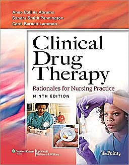 Portada del libro 9781451108767 Clinical Drug Therapy ,  International Edition (Rationales for Nursing Practice)