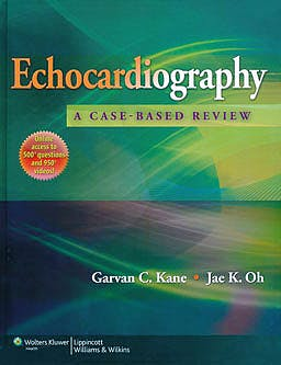Portada del libro 9781451109610 Echocardiography: A Case-Based Review