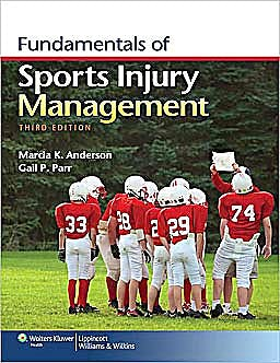 Portada del libro 9781451109764 Fundamentals of Sports Injury Management