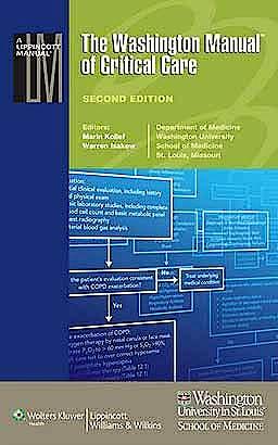 Portada del libro 9781451110227 The Washington Manual of Critical Care